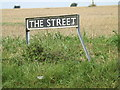 TM1389 : The Street sign by Adrian Cable