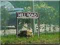 TM1389 : Hill Road sign by Adrian Cable