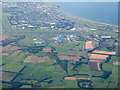 NS3728 : Prestwick and Monkton from the air by M J Richardson