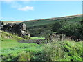 NY7447 : Disused mine above Blagill Burn by Mike Quinn