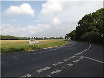 TM1587 : B1134 Long Row, Gissing by Adrian Cable