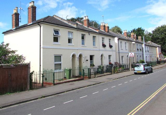 Market Street houses, Cheltenham