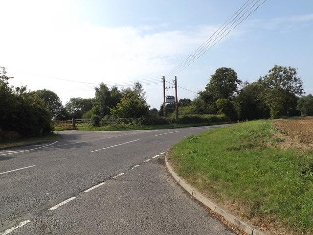 B1134 Heath Road, Sneath Common