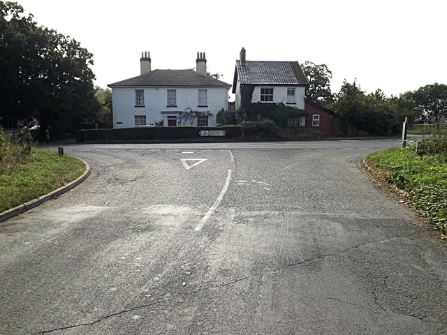 Moulton Road,  Sneath Common, Tivetshall St.Margaret
