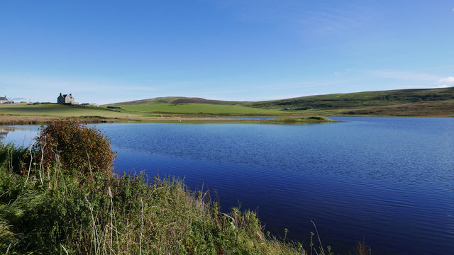 Law Ting Holm on Loch of Tingwall