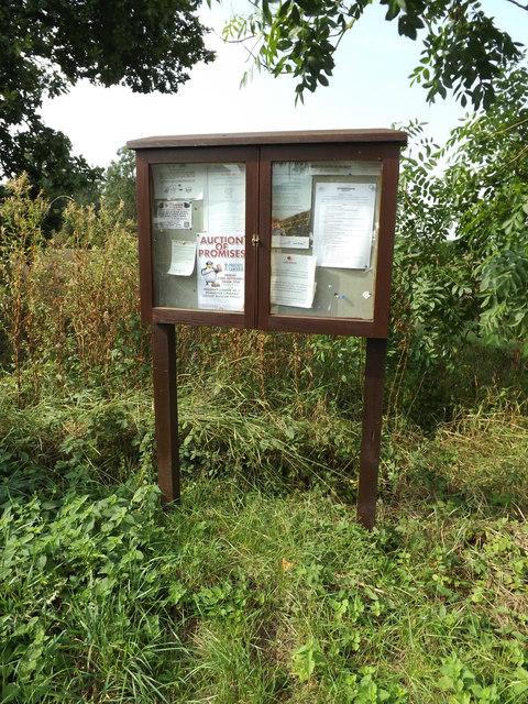 Tivetshall St.Margaret Village Notice Board