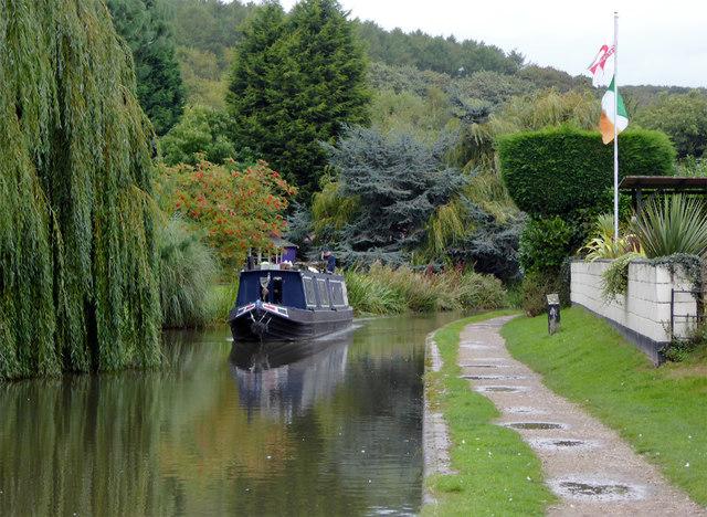 Birmingham and Fazeley Canal at Hopwas, Staffordshire
