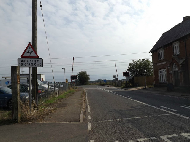 B1134 Station Road,  Sneath Common