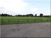 TM1686 : Tivetshall Recreation Ground by Adrian Cable