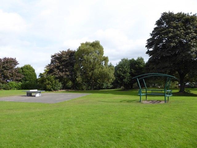Outdoor equipment in Cobridge Park