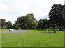 SJ8748 : Outdoor equipment in Cobridge Park by Jonathan Hutchins
