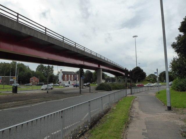 Etruria: Cobridge Road (A53)