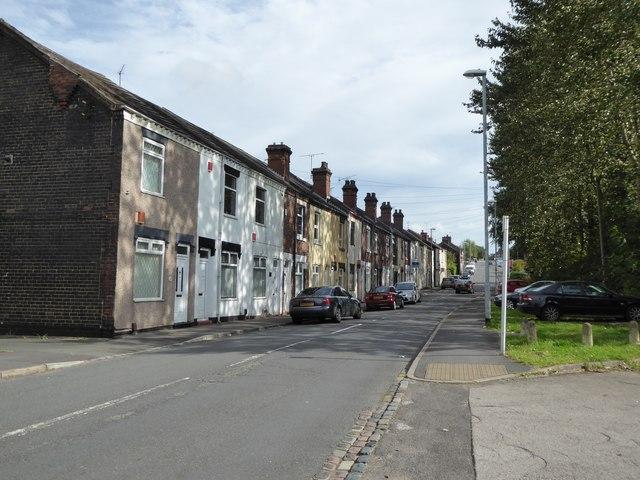 Cobridge: Sneyd Street
