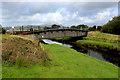 SH6035 : Railway Bridge crossing the Afon y Glyn (2) by Chris Heaton