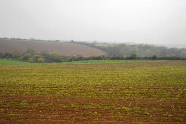 Cornish farmland