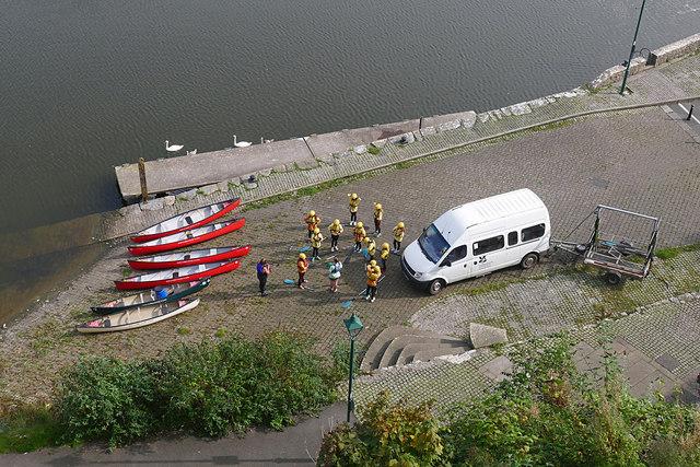 Kayaks, Pembroke River