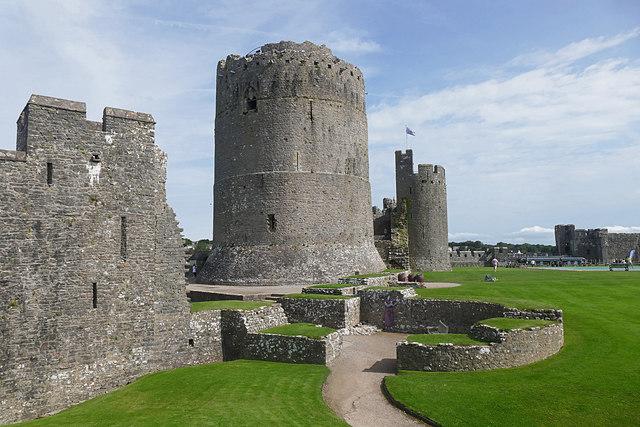 The keep, Pembroke Castle