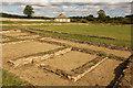 SP3915 : North Leigh Roman Villa by Richard Croft