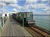 SU4208 : Hythe Pier train by Robin Webster