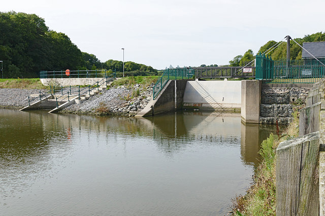 River Pembroke level control