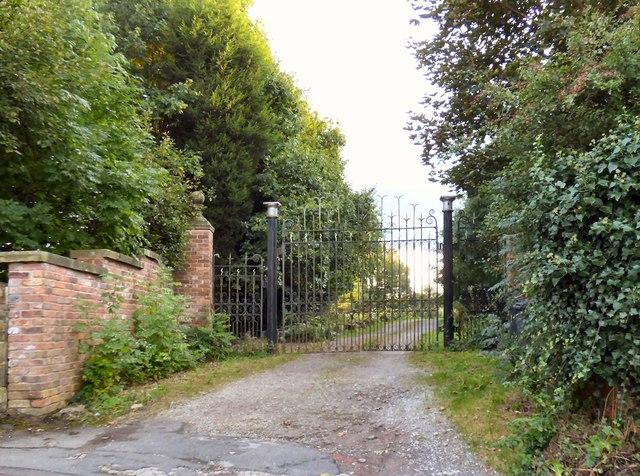 Gate on Apethorn Lane