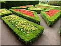 NH8449 : Colourful parterre at Cawdor Castle by Oliver Dixon