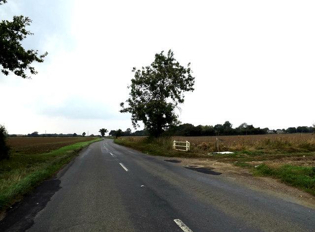 B1134 Station Road, Tivetshall St.Margaret