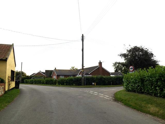 The Street, Tivetshall St.Mary