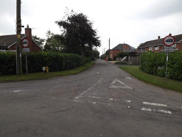 Mill Road, Tivetshall St.Mary