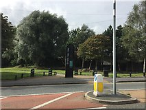 SJ8748 : Footpath off the A50 Waterloo Road in Stoke by Jonathan Hutchins