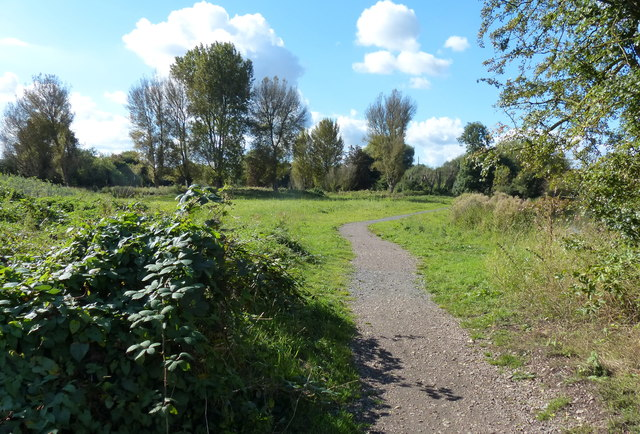 Path along the River Soar