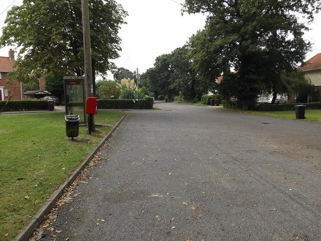 School Road & School Road Postbox