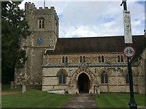 TL1314 : St Nicholas Church by Gary Fellows