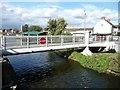 SE6812 : Princess Royal footbridge, Thorne, closed to boaters by Christine Johnstone