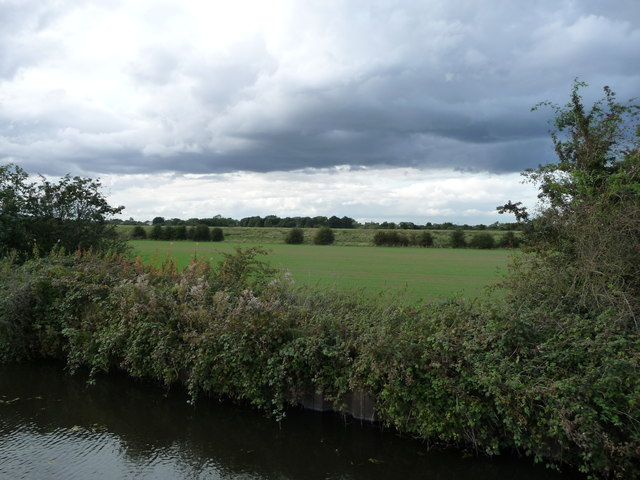 Dark clouds over Stainforth East Ings