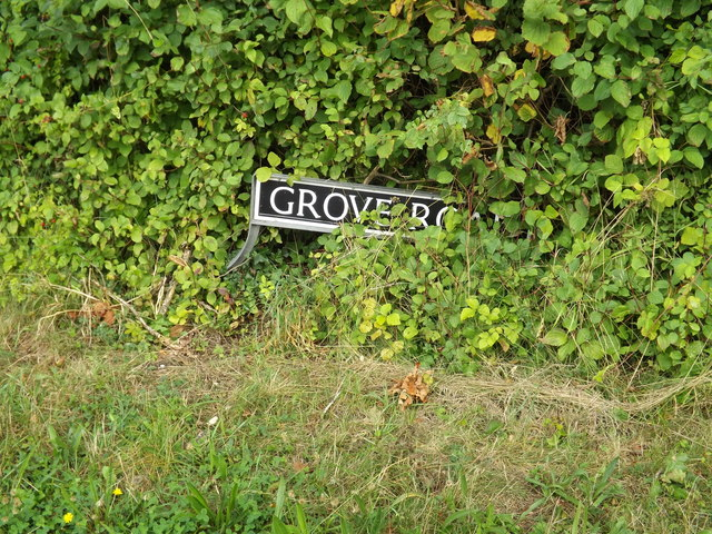Grove Road sign