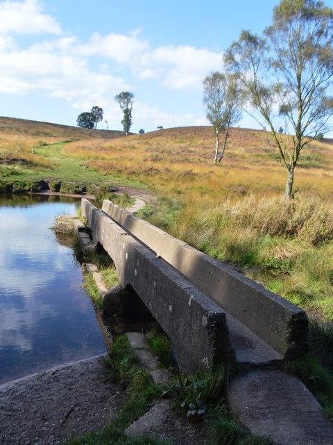 Footbridge over the Sher Brook