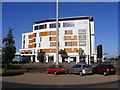 SZ0191 : Poole Travelodge by Gordon Griffiths