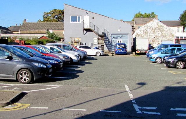 Secure Wise premises and van, Pontnewydd, Cwmbran