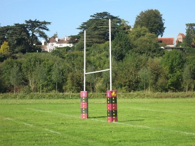Goal Posts at Shiplake