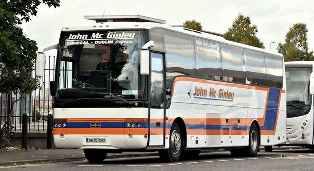 John McGinley coach, Belfast (October 2016)