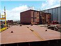 NS3274 : Ferguson Marine shipyard redevelopment by Thomas Nugent