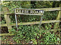 TM1585 : Glebe Road sign by Adrian Cable
