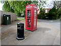 SO9523 : K6  phonebox on a Cheltenham corner by Jaggery