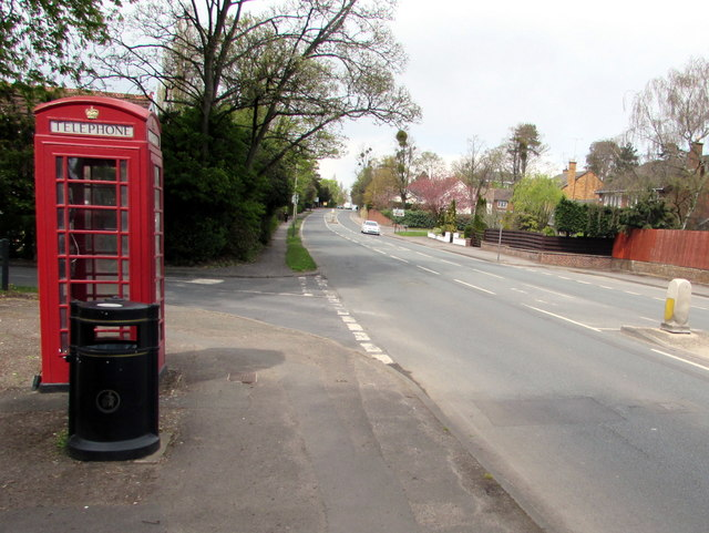 North along Evesham Road, Cheltenham