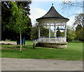 SO9523 : Pittville Park bandstand, Cheltenham by Jaggery