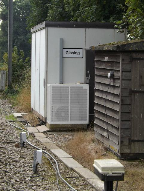 Gissing Level Crossing Equipment Room
