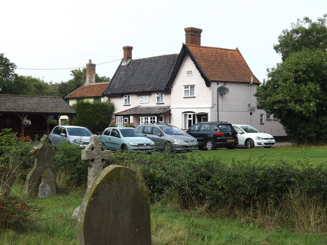 The Crown Public House, Gissing