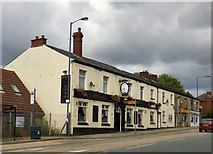 SJ9499 : New Inn, Mossley Road, Ashton under Lyne by Gerald England