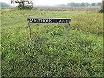 TM1585 : Malthouse Lane sign by Adrian Cable